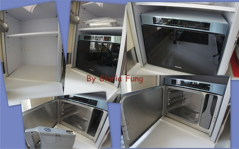 gloria diy blog miele stream oven dg1450. Black Bedroom Furniture Sets. Home Design Ideas