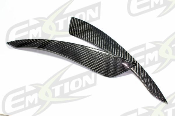 carbon fiber eyelids eyebrows fit infiniti g35 coupe 03